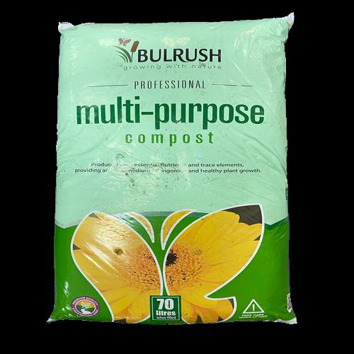 Bulrush Multi Purpose Compost Traditional (70L)